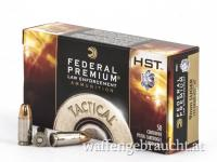 Federal 9mm Para 124gr HST TM-Hohlspitz 50Schuß