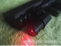 Red Laser, Picatinny/Weaver 100m!