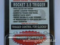 Ghost Rocket 1,6kg Steuerfeder mit Triggerstop für alle Glock Pistolen (außer Glock 42/43)