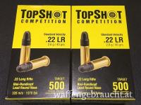 Top Shot Competition Kal.22lr 1000 Schuss um € 79,90.-
