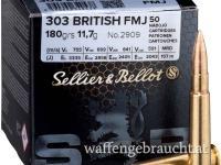 Sellier & Bellot .303British 180gr FMJ 50 Stk.