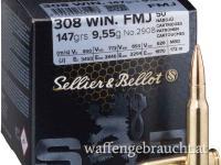Sellier & Bellot .308Win 147gr FMJ 50 Stk.