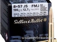 Sellier & Bellot 8x57JS 196gr FMJ 50 Stk.