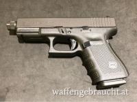 Glock 19 Gen4 mit Gewindelauf 9x19