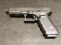 Glock 17 Gen4 mit Gewindelauf 9x19
