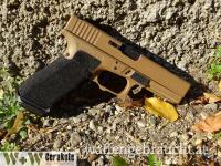 Cerakote Waffenbeschichtung  Glock 17  H-268 Troy Coyote Tan