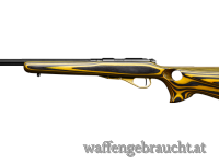 CZ 455 Varmint thumbhole yellow