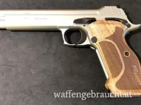 """Sig Sauer P210 Supertarget Silver 6"""" Kal.9mm Para"""