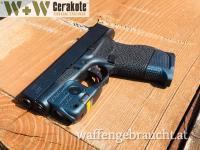 Glock 43 Cerakote Mc-161 mit Gun Candy Kraken