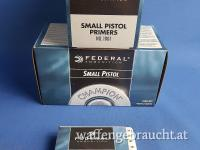 Federal Small Pistol Primers 100