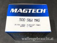 Magtech 500 S&W 400gr SJSP Flat 20Stk.