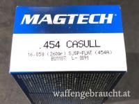 Magtech 454 Casull 260gr SJSP Flat 20Stk