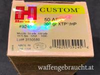 Hornady Custom Kal. 50 AE 300gr XTP HP 20Stk