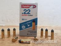 Aguila .22lr Super Colibri Subsonic 1,3g 20grs.