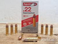 Aguila .22lr Supermaximum SP 1,9g 30grs. Hyper Velocity