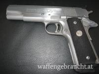 Colt Gold Cup National Match MK IV/Series 80 stainless Rarität mit Fallsicherung