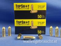 TopShot Competition FMJ 9mm Luger 124grs 8g