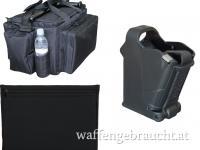 IPSC Zubehör-Set! Rangebag, Gunsleeve + Uplula Loader!