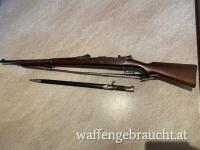 Gewehr 98 für Peru mit Riemen und Bajonett