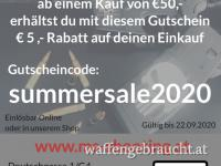 SUMMER SALE   -5€ Rabatt