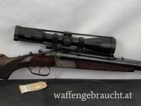 Hubertus Drilling +EL Kal. 5,6x50R Mag. ; 16/70; 6,5x57R
