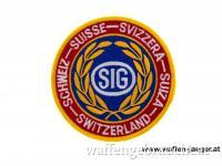 Original Aufnäher SIG Switzerland