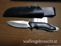 Walther BNK 2 Black Nature Knife mit Lederscheide