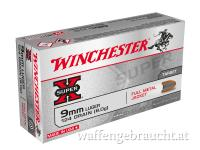 WINCHESTER 9MM PARA 124 GRS FMJ 1000 STK
