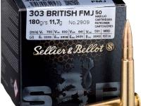 Sellier & Bellot .303British 180gr FMJ 50 Stk.