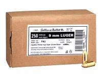 Sellier & Bellot 9mm Para 124gr. 250er Schüttpackung